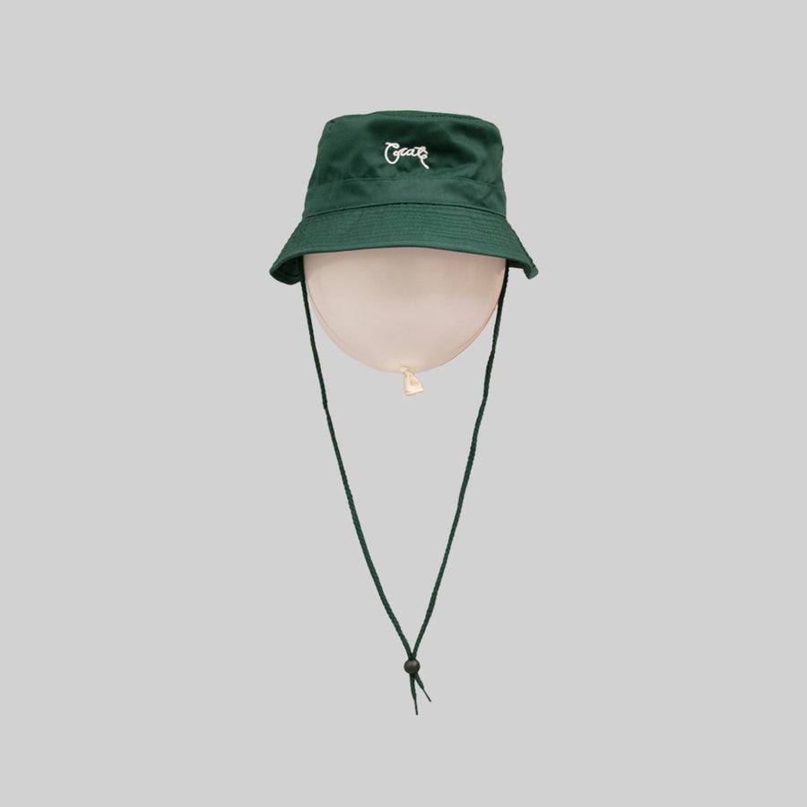 Unisex Scripted Bucket Hat Forest