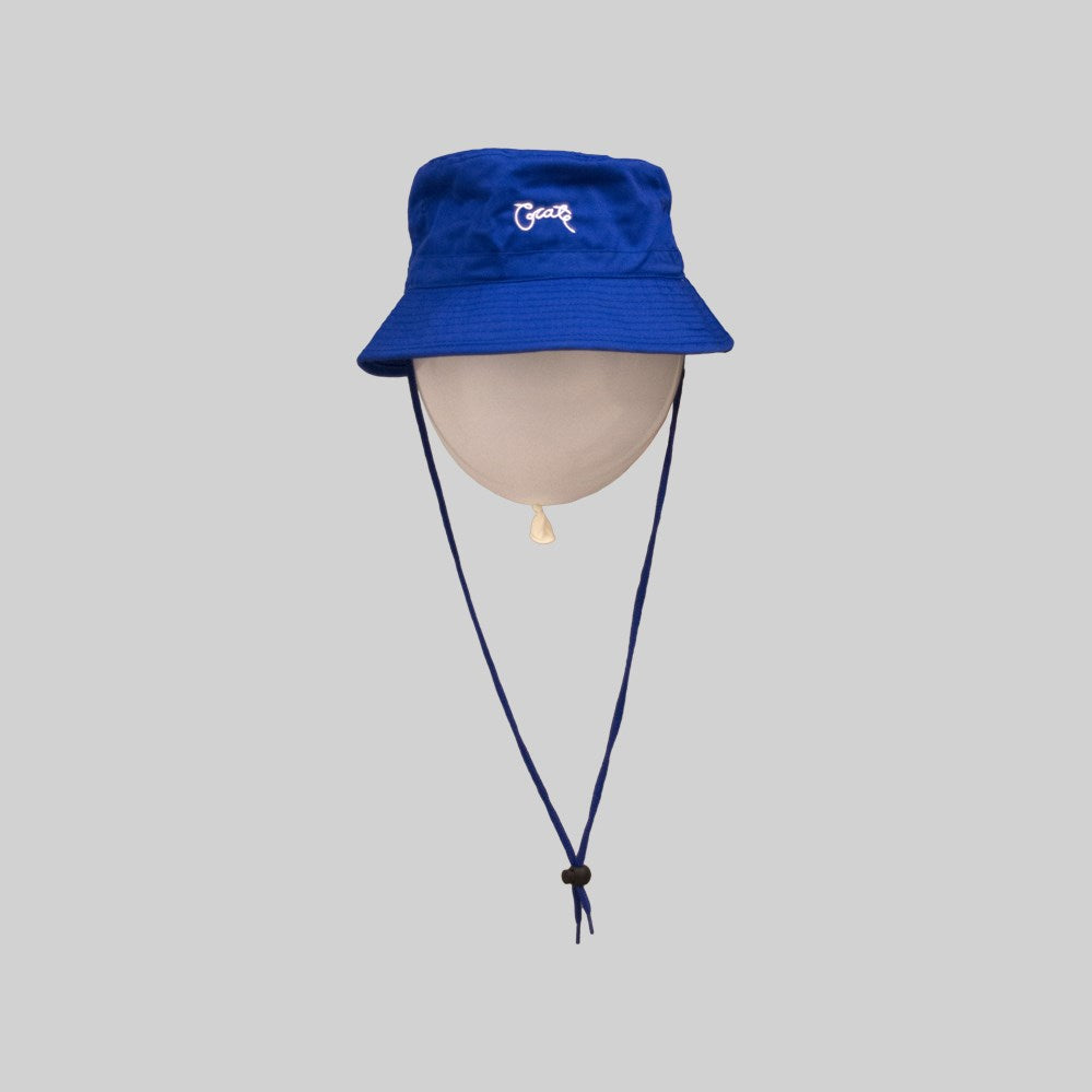 Unisex Scripted Bucket Hat Royal