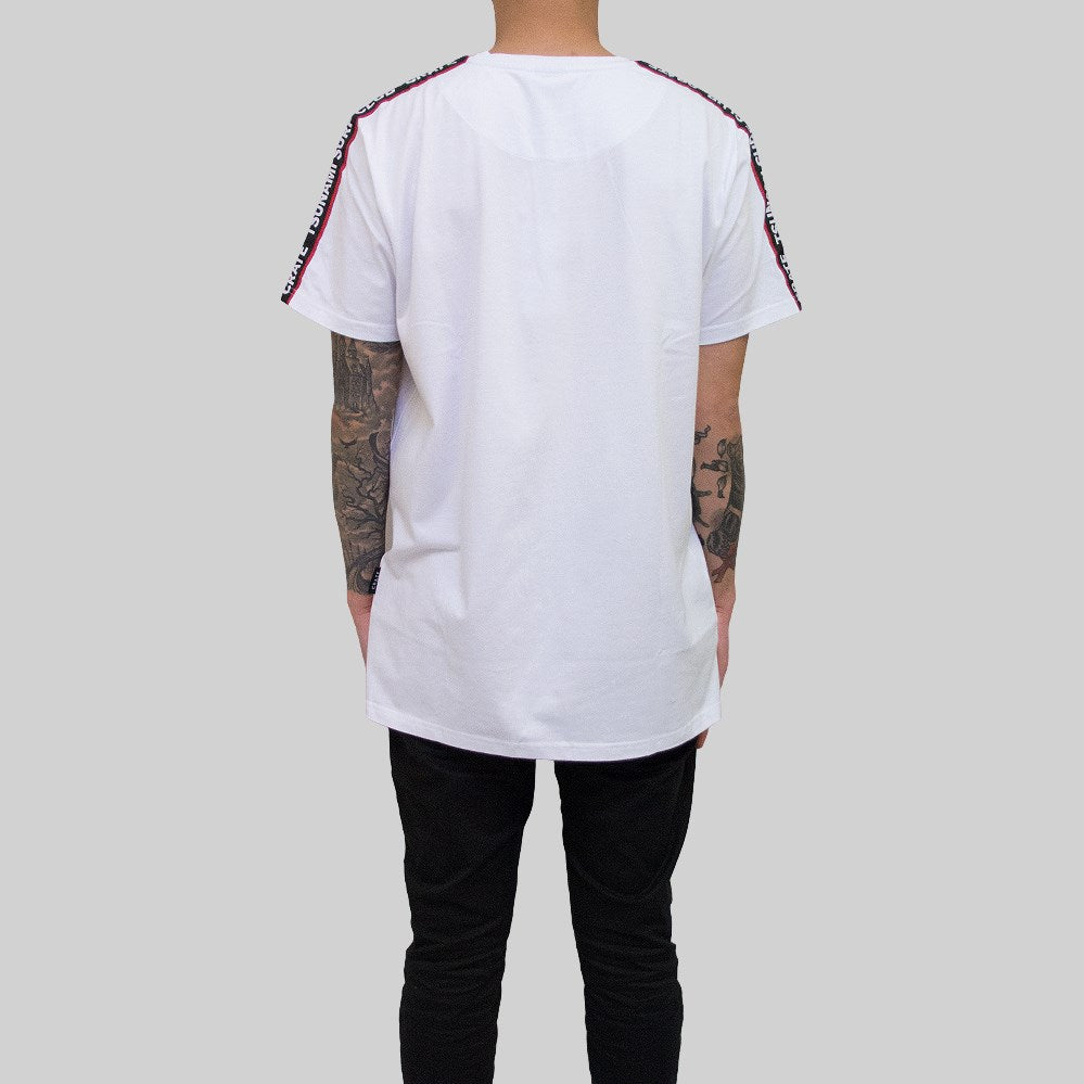 Mens Tsunami Tape T-Shirt White