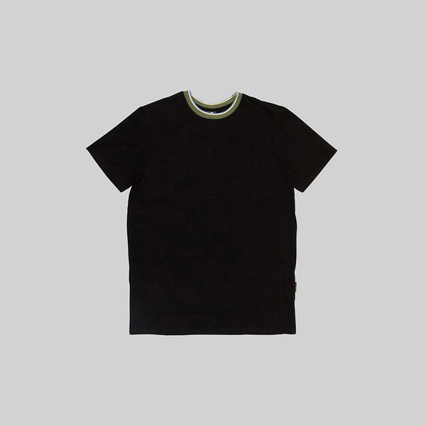 Mens Nav T-Shirt Black