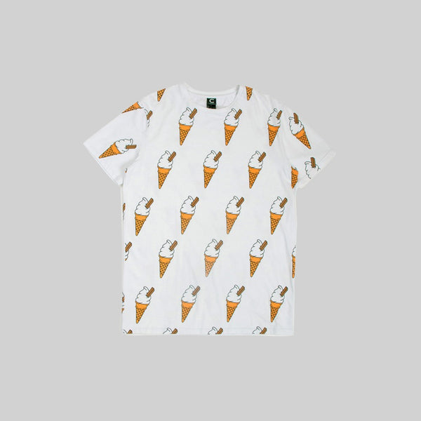 Mens Ice Cream T-Shirt White