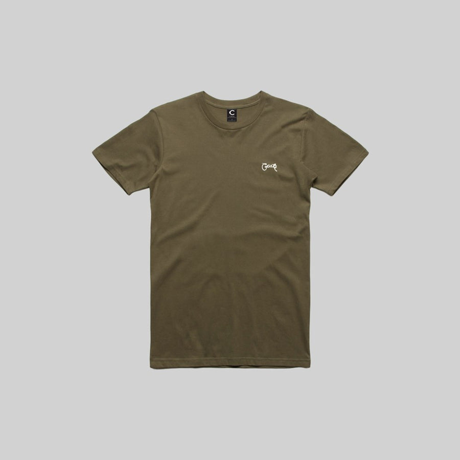 Mens Stamp T-Shirt Army
