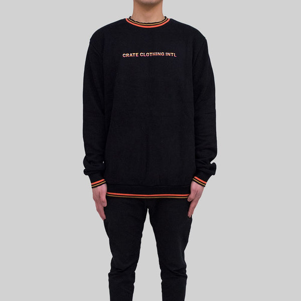 Mens Signature Sweater Black