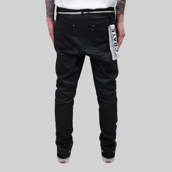Mens New Regime Denim Black