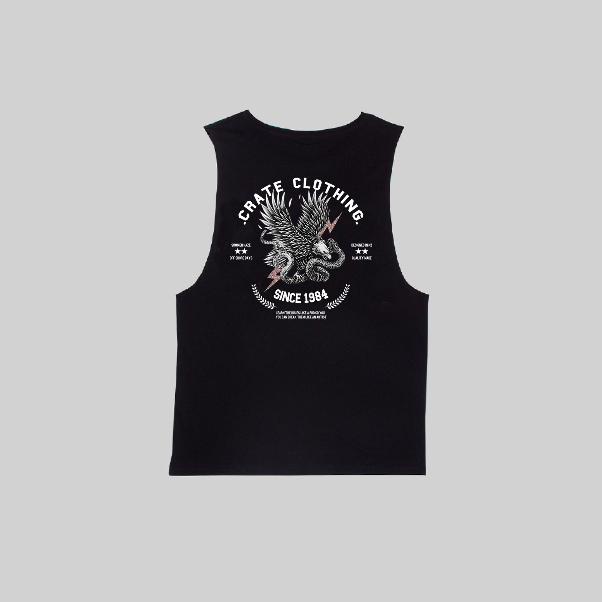Men's Fangs & Feathers Muscle Singlet