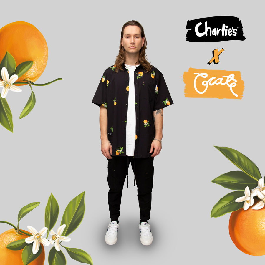Mens Oranges SS Shirt