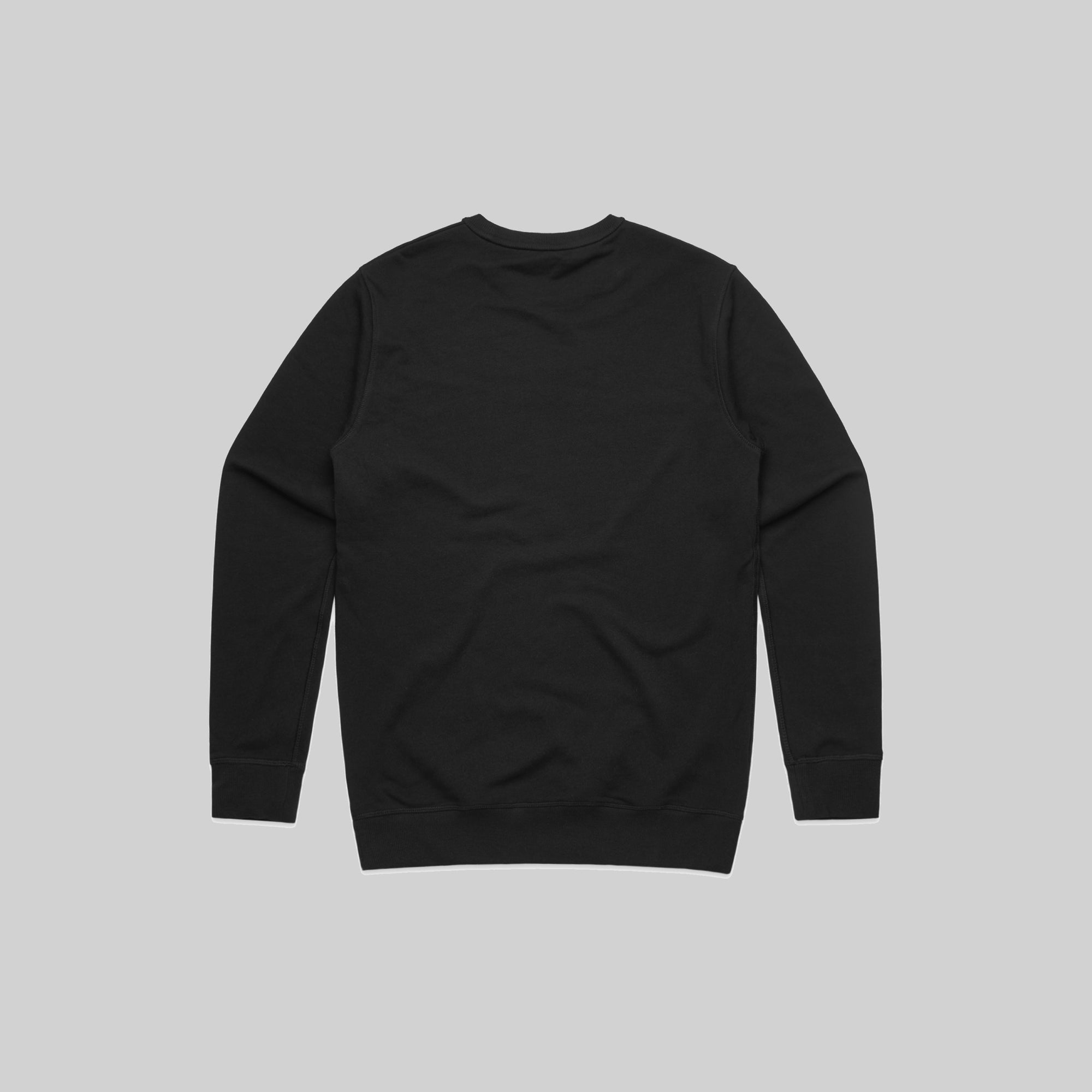 Mens Spread Smiles Not Germs Crew Black