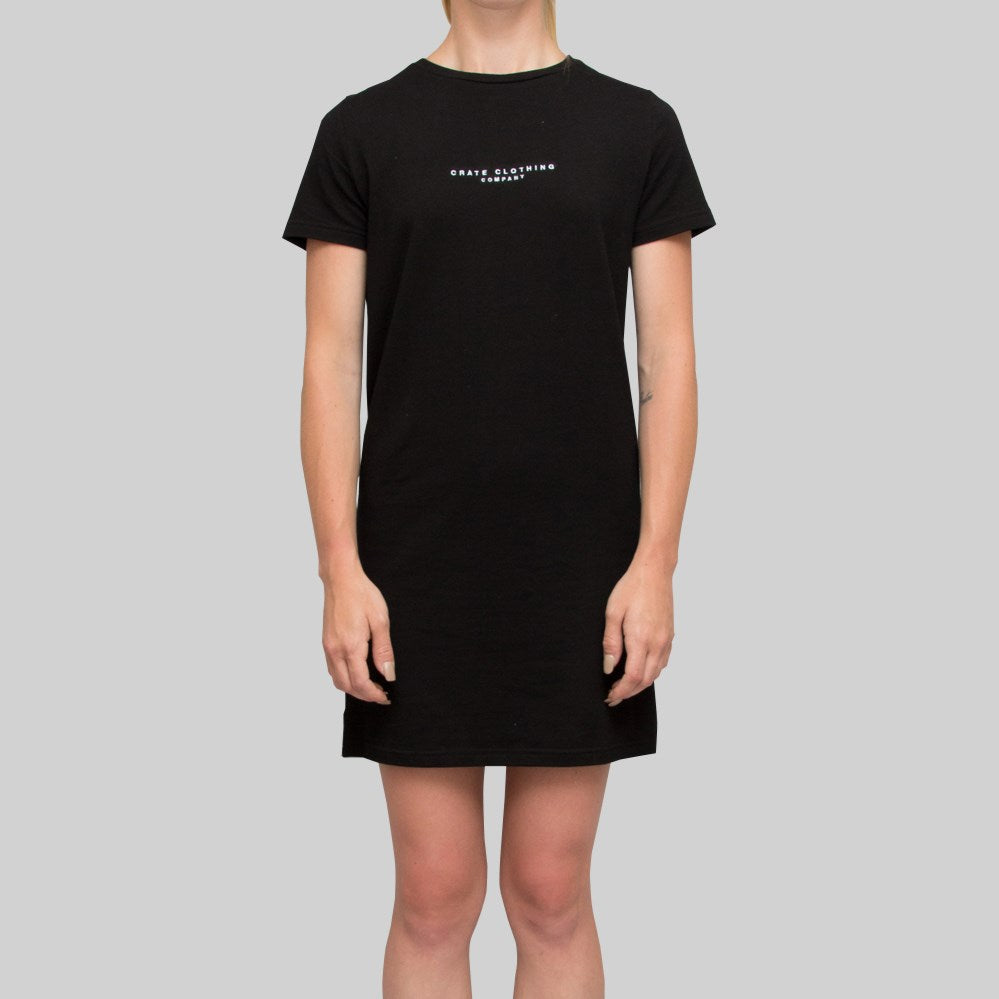 Womens Minimalist Dress Black