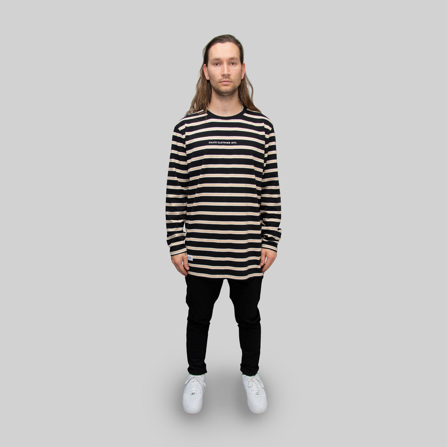 Men's Easy Stripe Long Sleeve T-Shirt