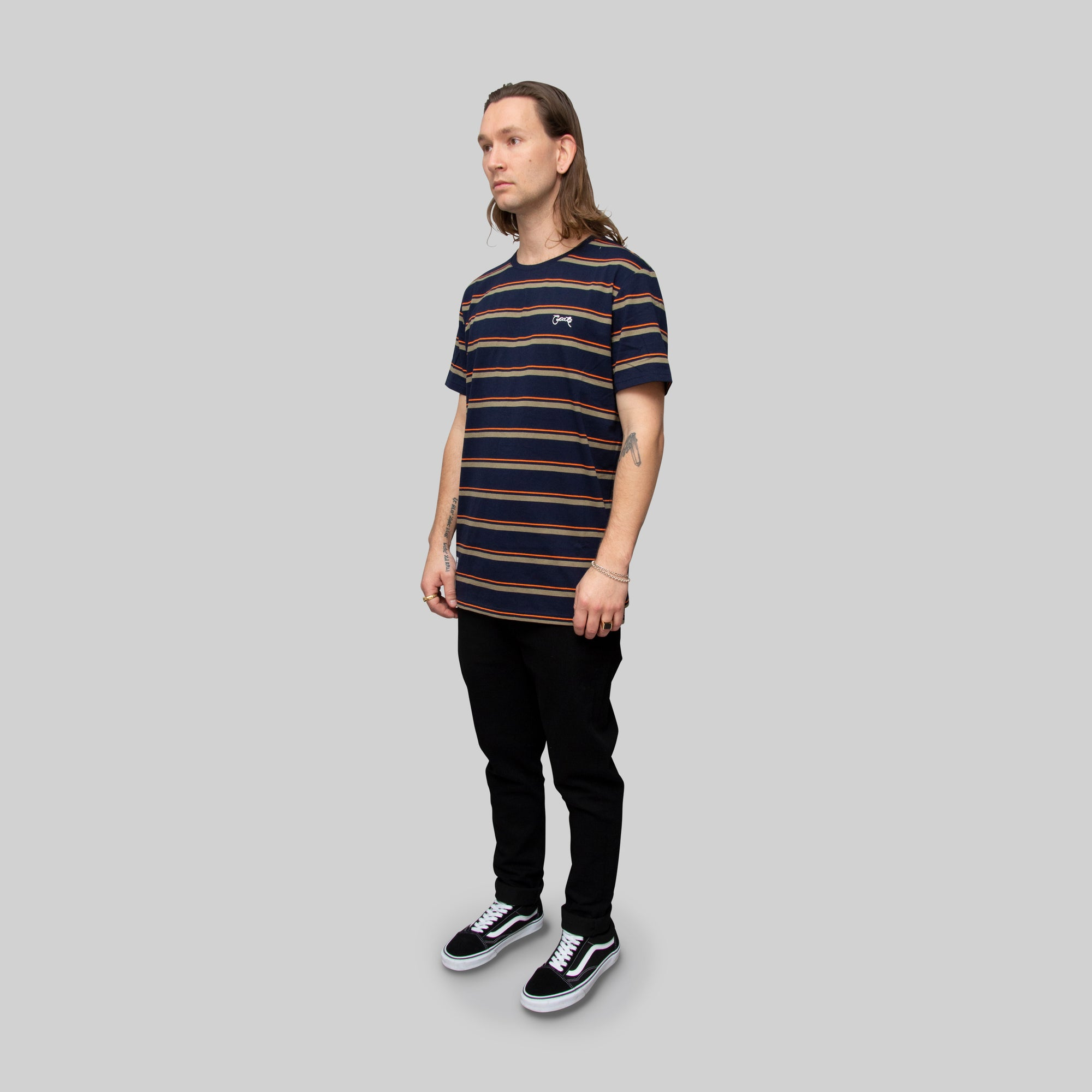 Men's Earthy Easy Stripe T-Shirt