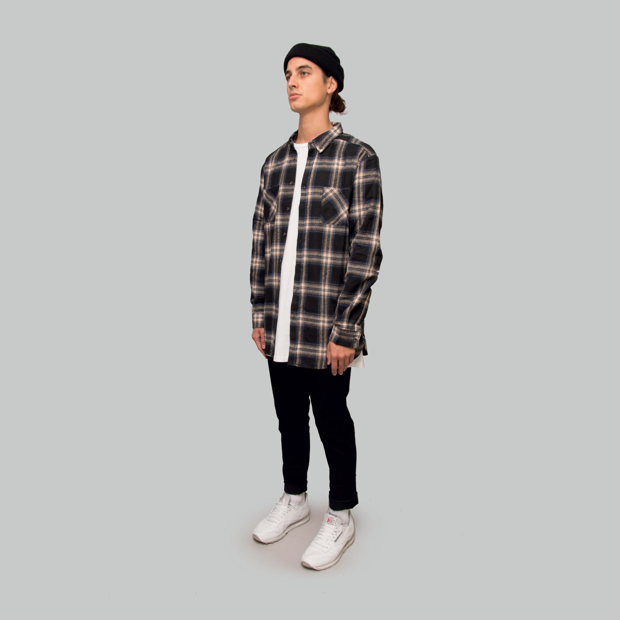 Mens AW19 Flannel Shirt