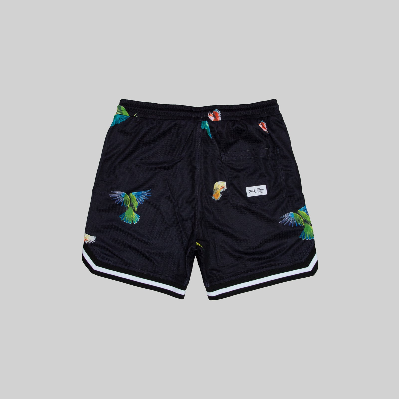 Mens Parrot Gang Shorts