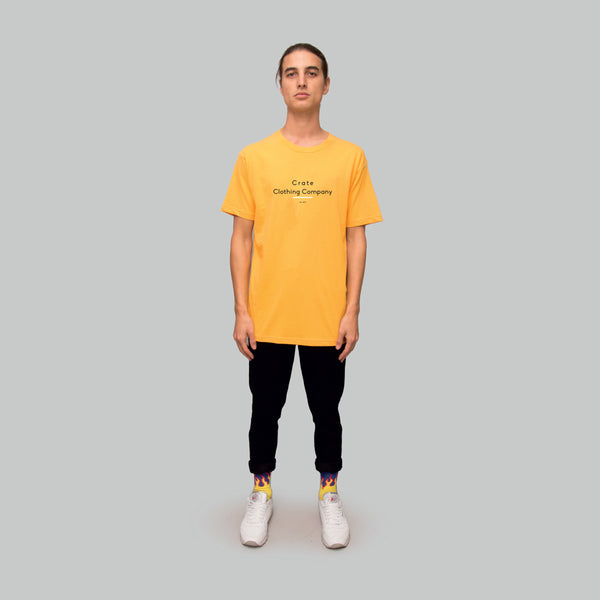 Mens Oscar T-Shirt Yellow