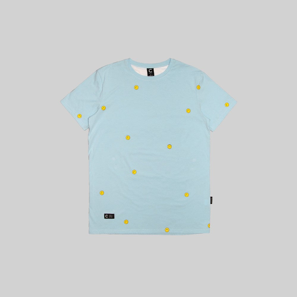 Mens Allover Smiley T-Shirt