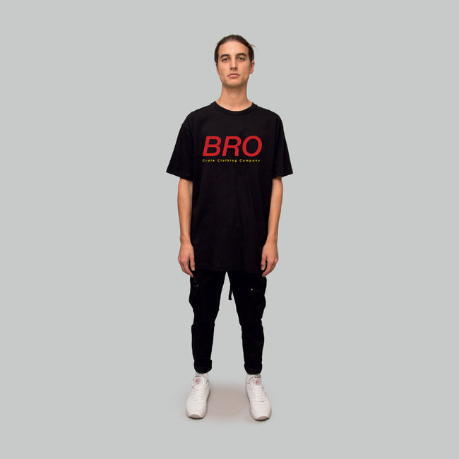 Mens Bro T-Shirt Black