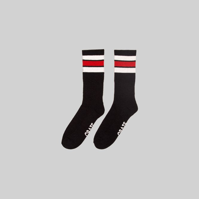 Unisex Rue Sock Black