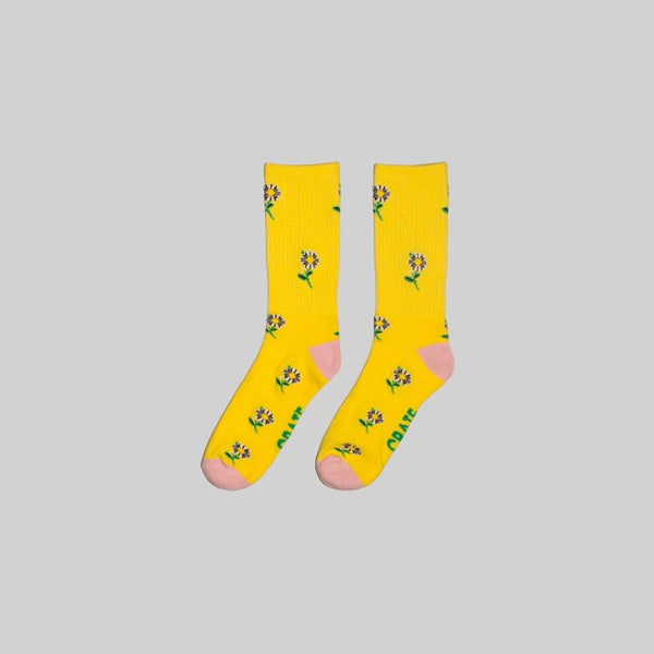 Unisex Daisy Sock Yellow