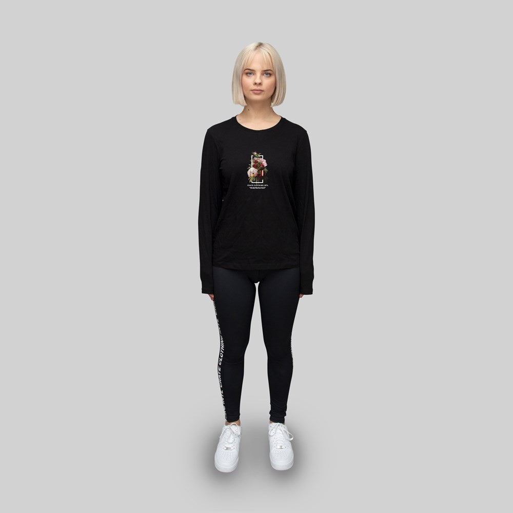 Women's Floral long sleeve tee