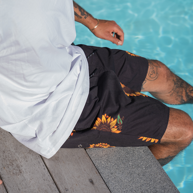Mens Sunflower Gang Swim Shorts