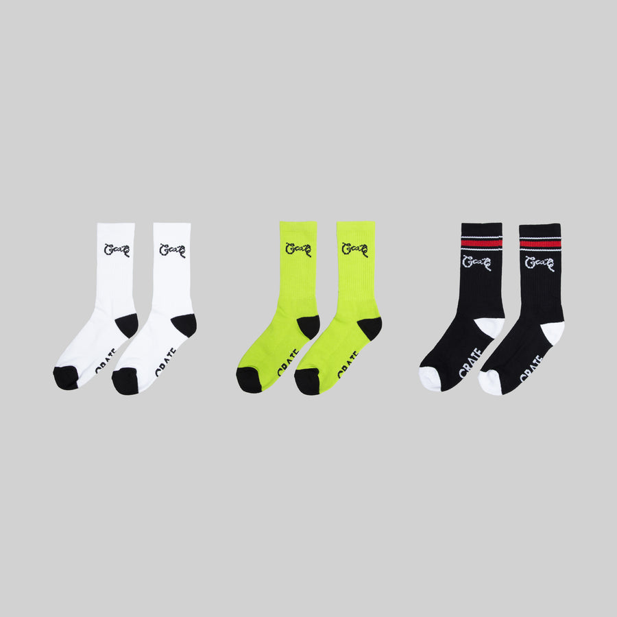 Script 3 Pack Sock Bundle