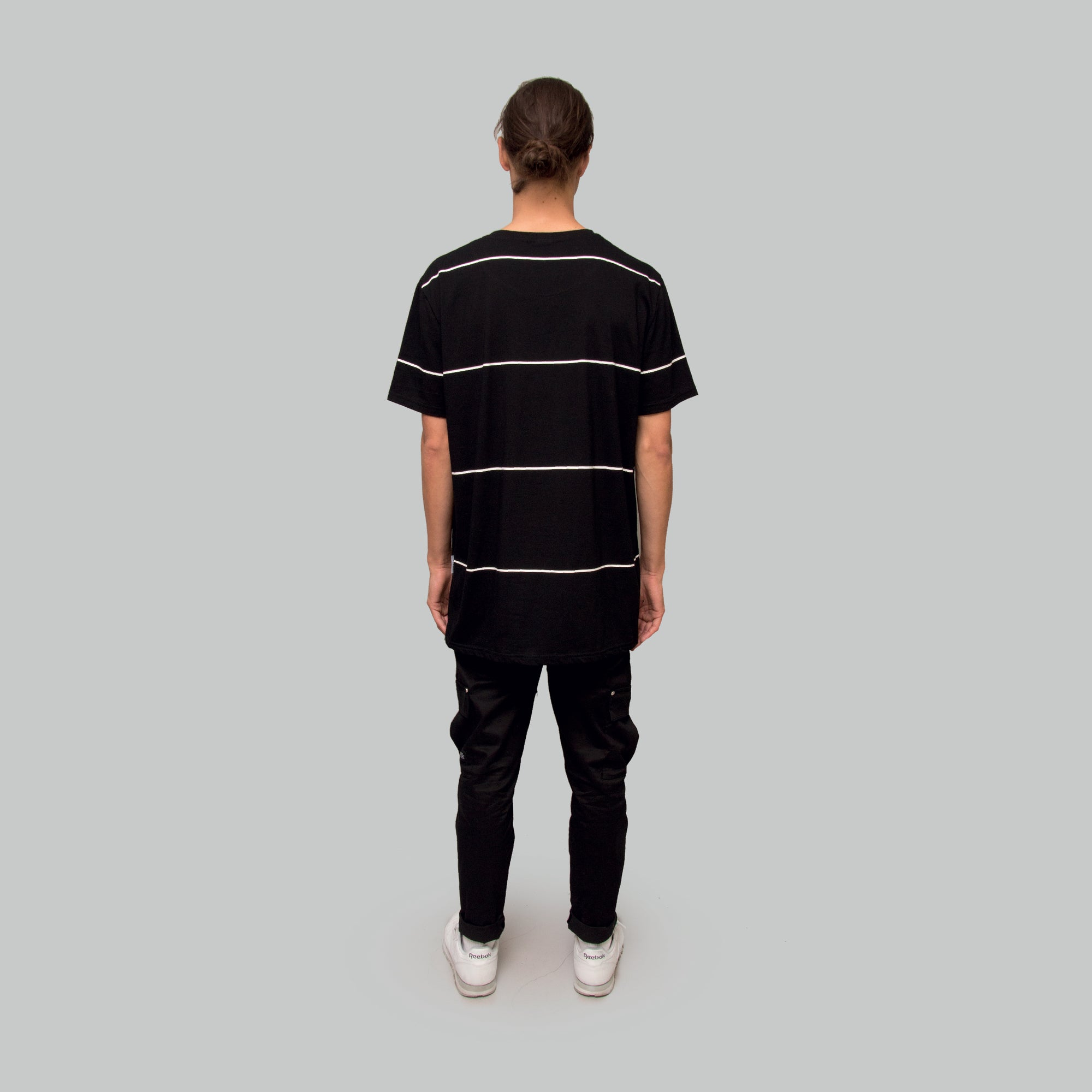 Mens Sparse Stripe T-Shirt