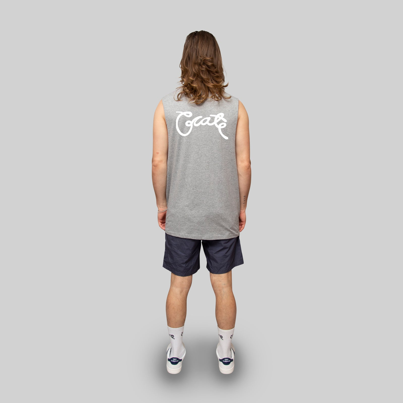 Mens Scripted Muscle Tee