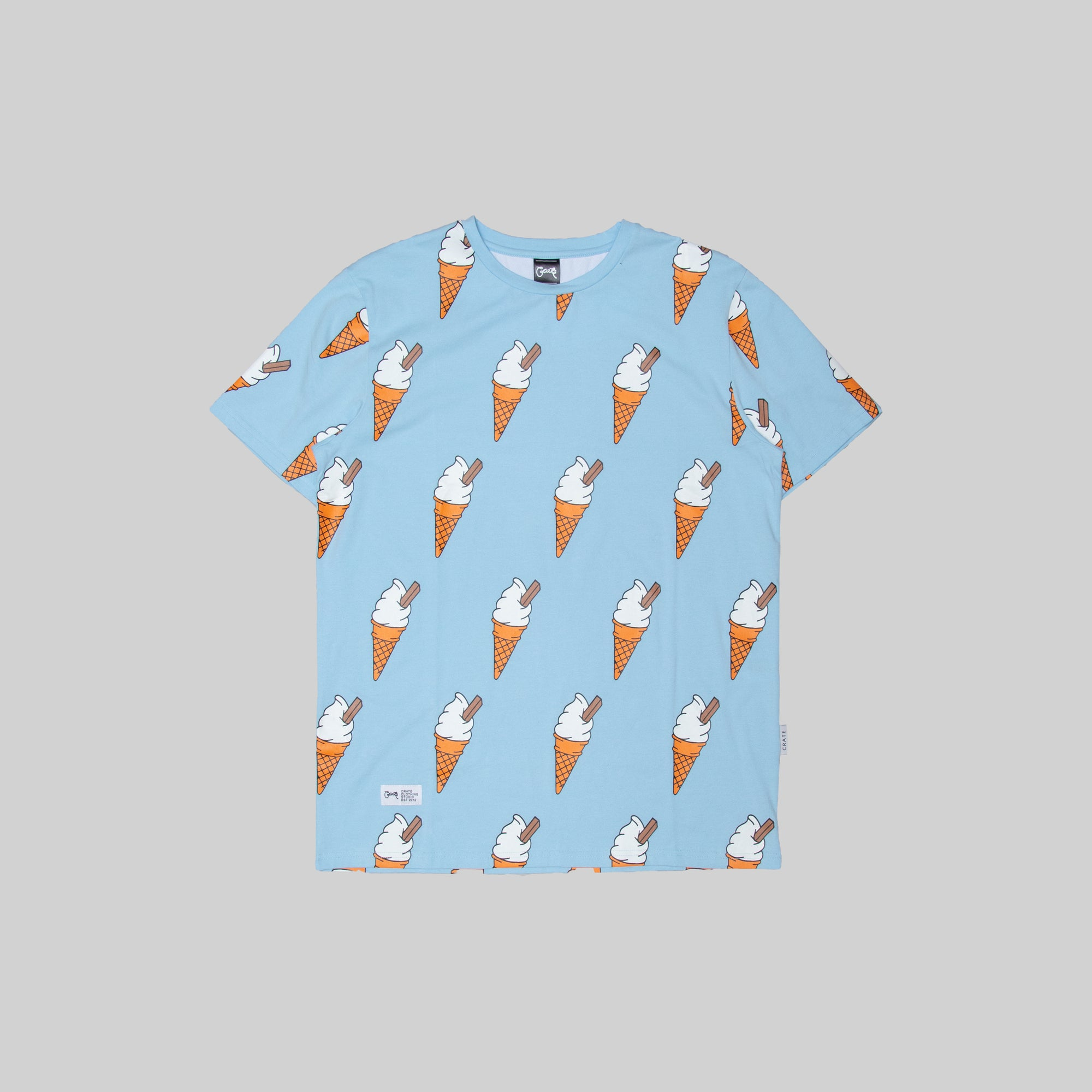 Mens All Over Ice Cream T-Shirt