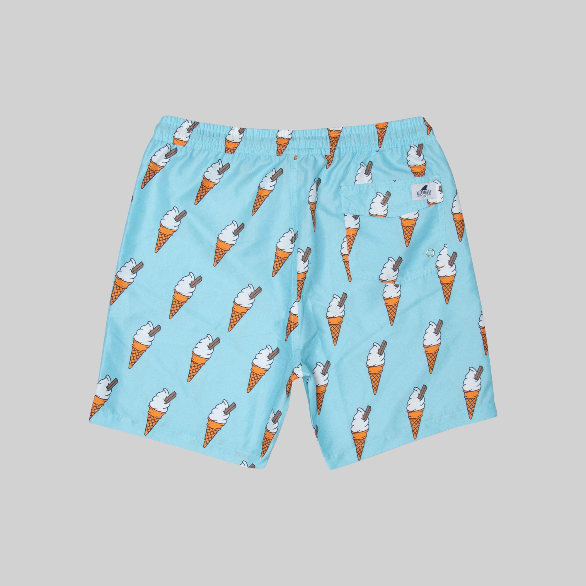 Mens Ice Cream Swim Short