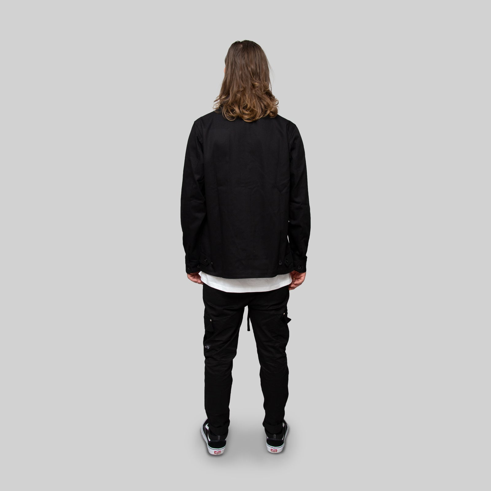 Working Mans Jacket Black