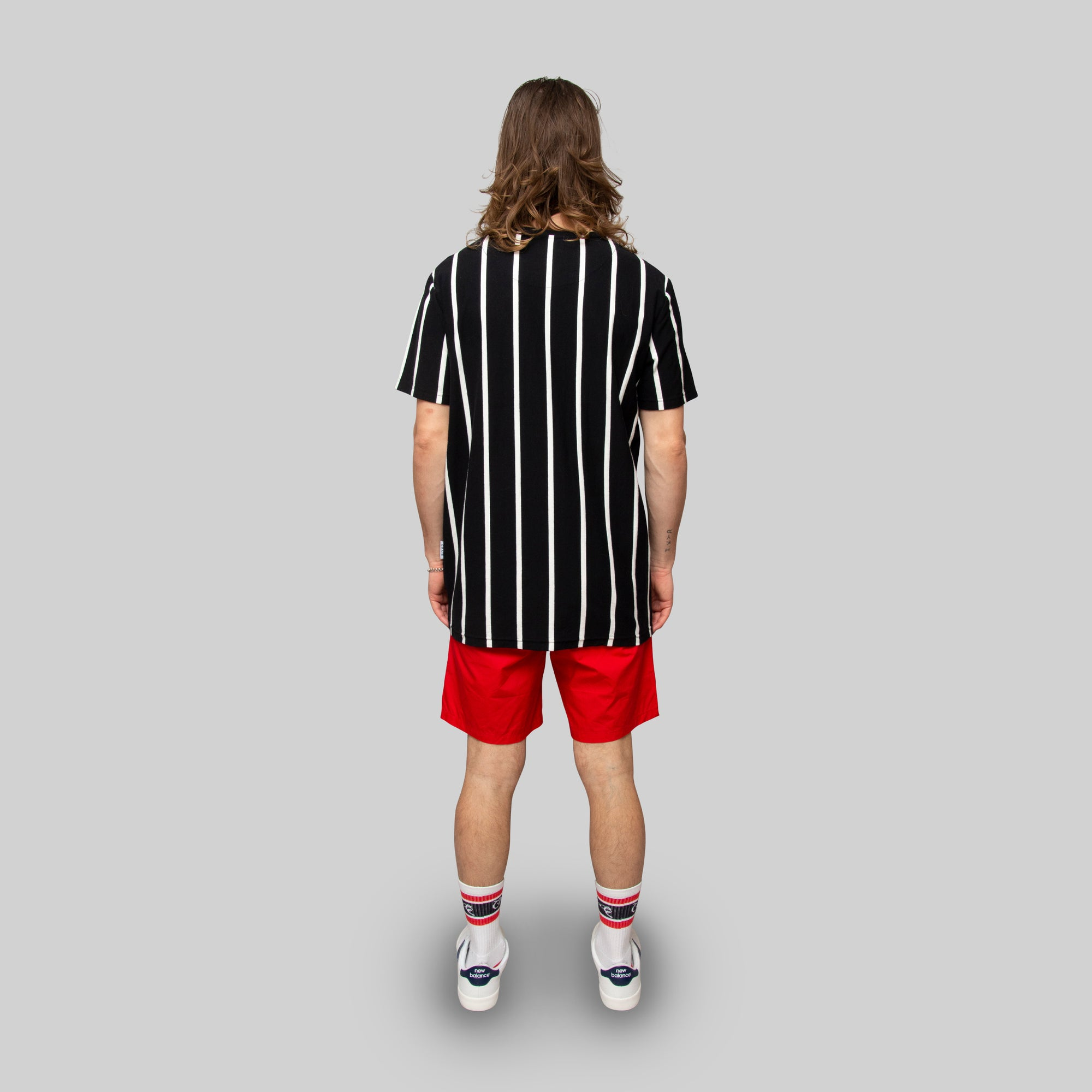 Mens Varsity Stripe T-Shirt