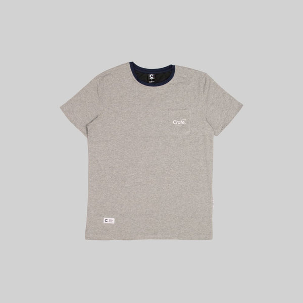 Mens Club T-Shirt Grey