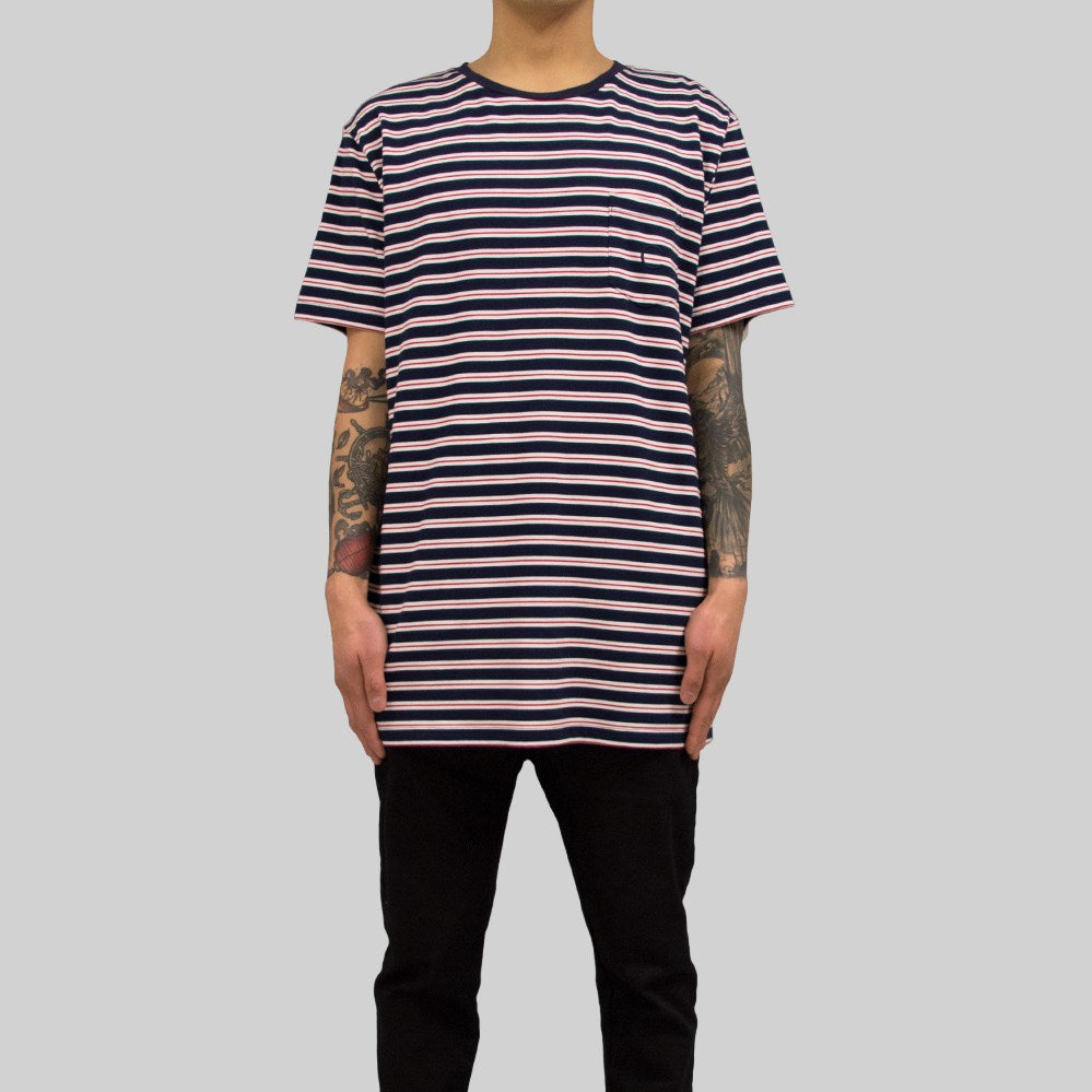 Mens Pocket Sailor T-Shirt Navy