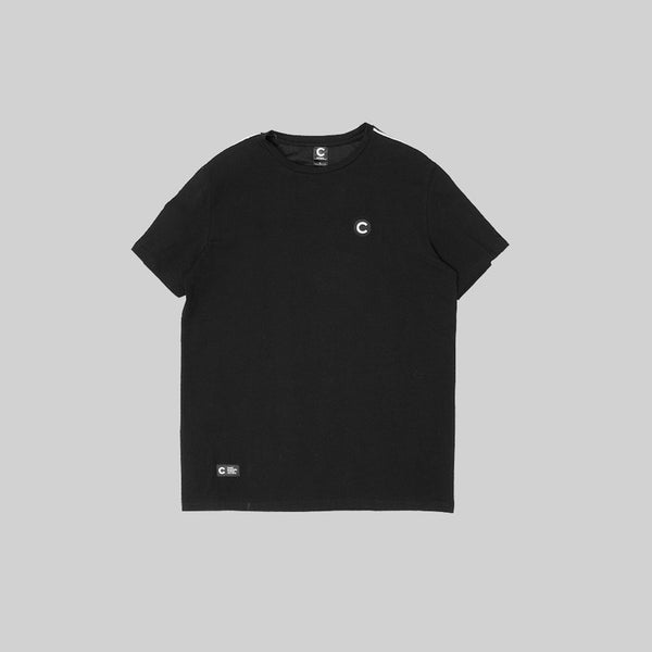 Mens V2 Tape T-Shirt Black