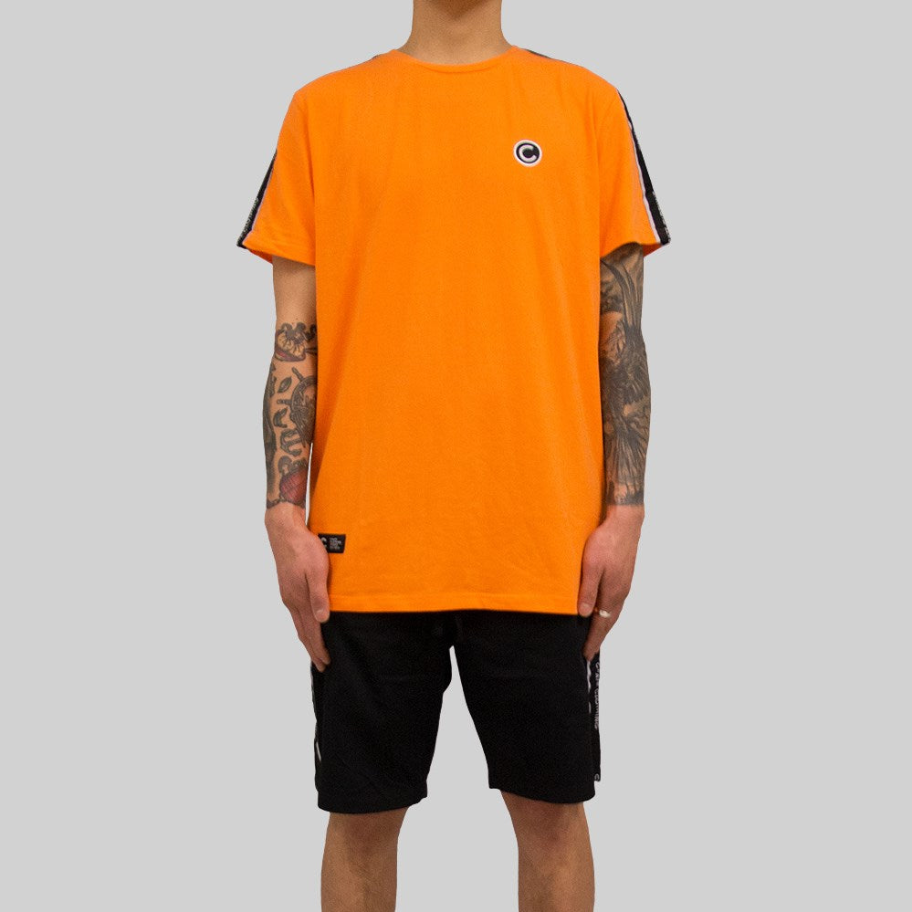 Mens V2 Tape T-Shirt Orange