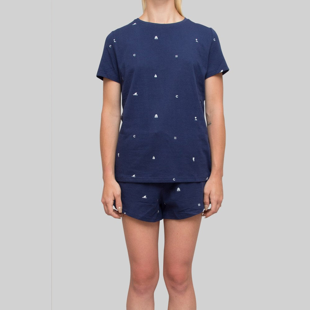 Womens Marley T-Shirt Navy