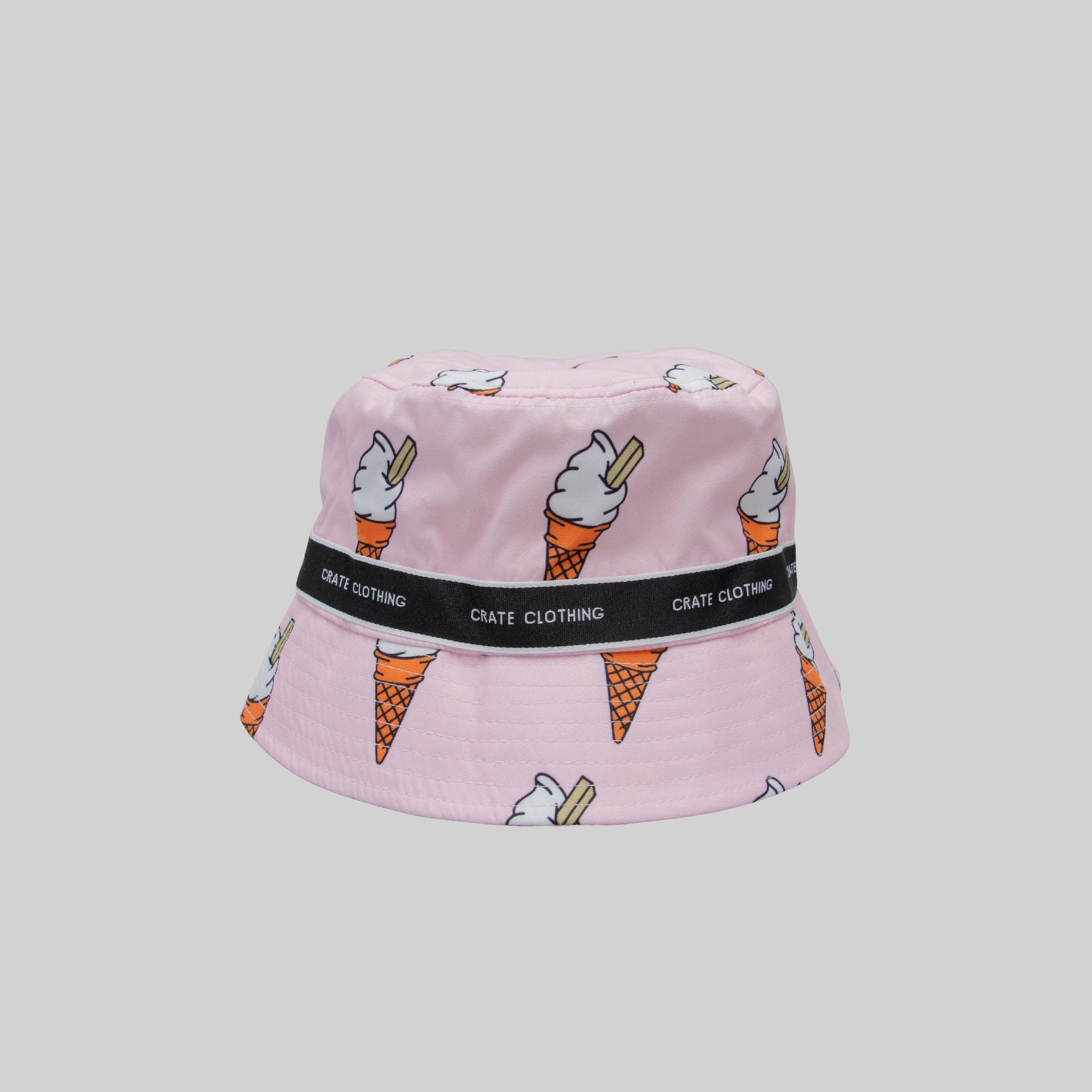 UNISEX ALL OVER ICECREAM BUCKET HAT