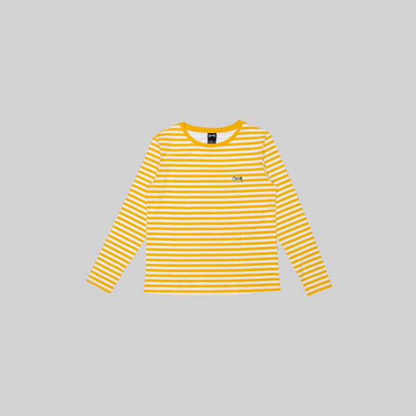 Womens Stripe Long Sleeve