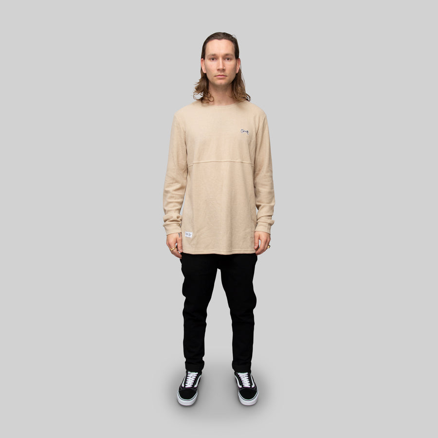 Men's Waffle Long Sleeve T-Shirt