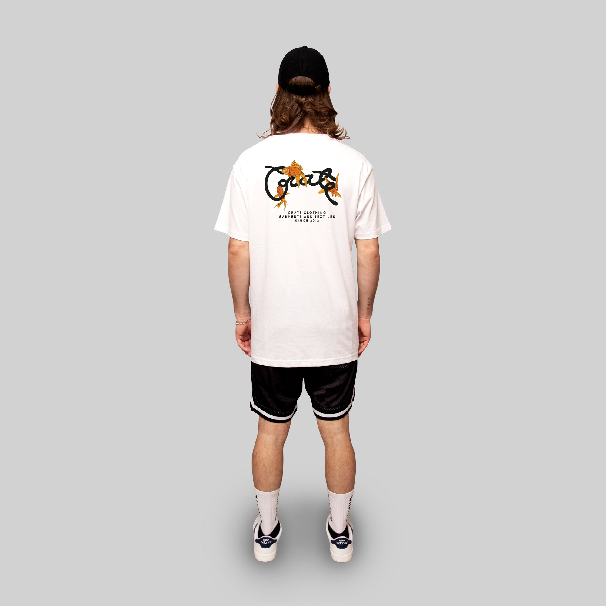 Men's Scripted Goldfish T-Shirt