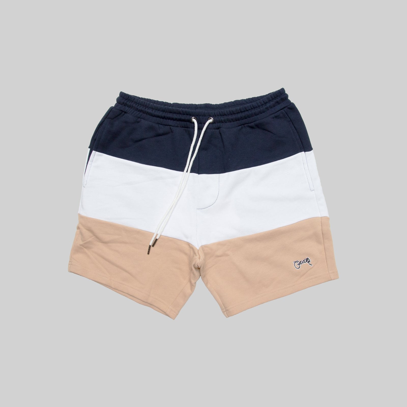 Mens Colour Block Shorts