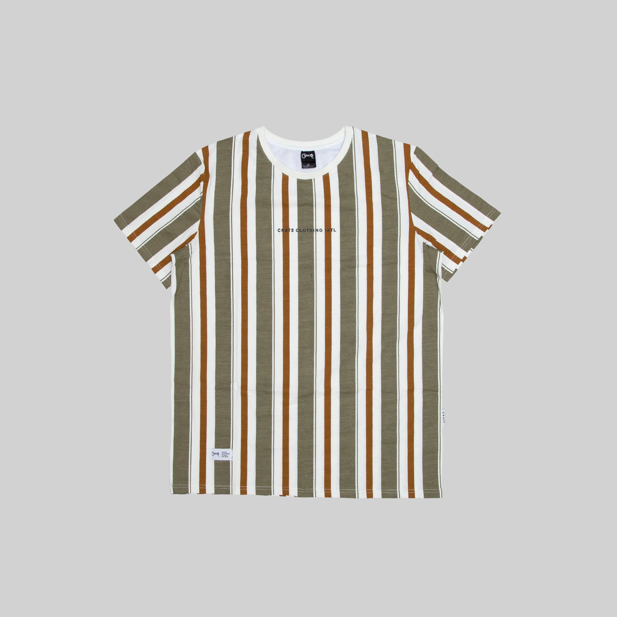 Mens Earth Stripe T-Shirt