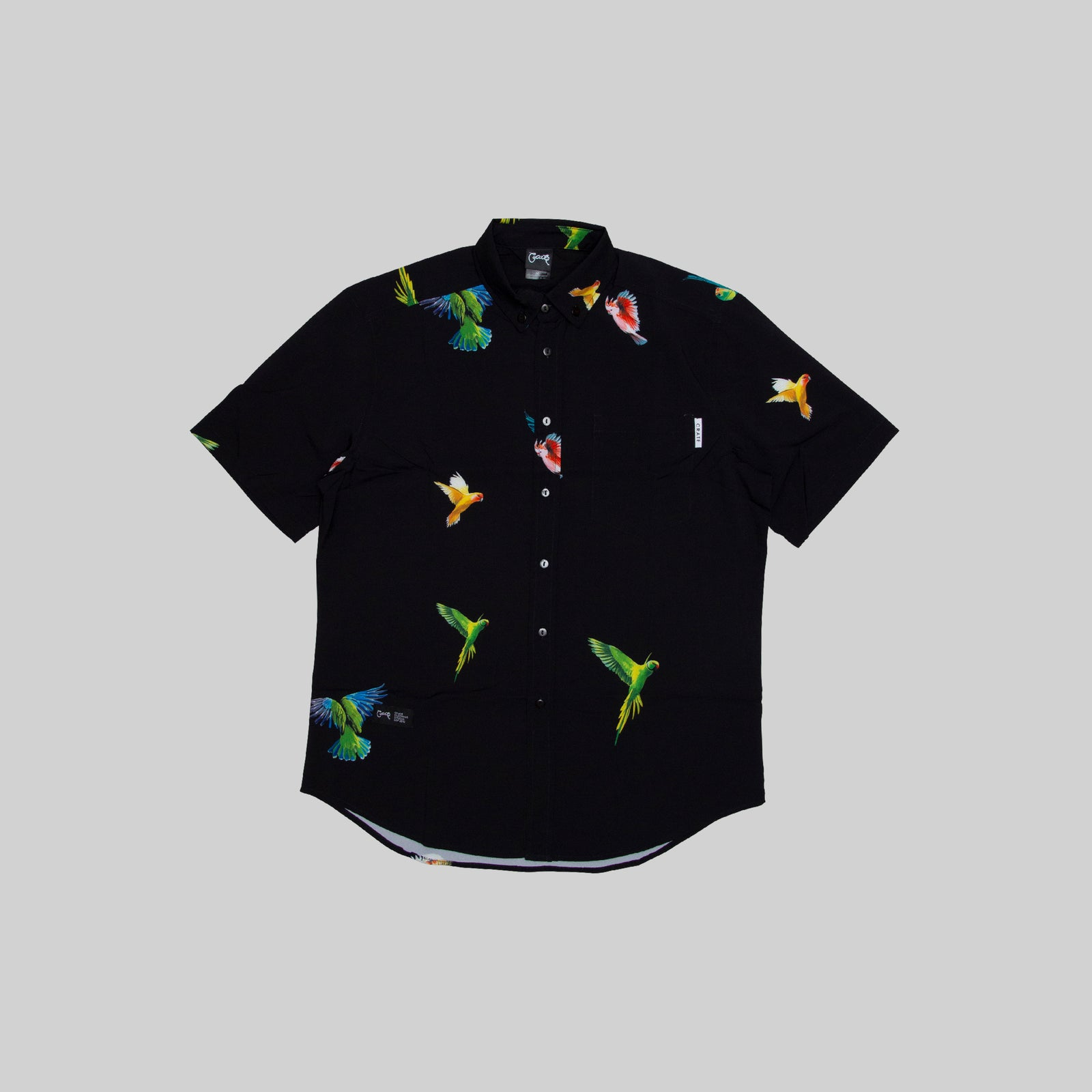 Mens Parrot Gang SS Shirt