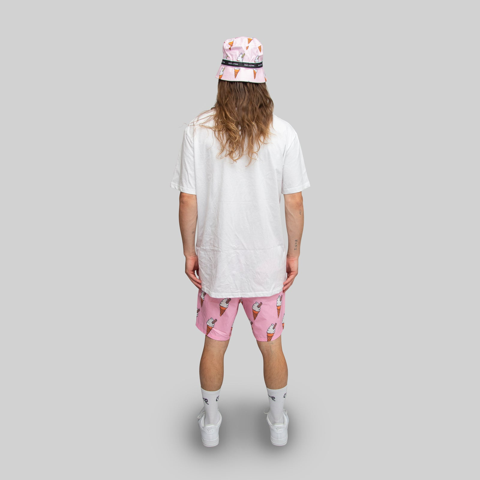 MENS ALL OVER ICE CREAM SHORTS