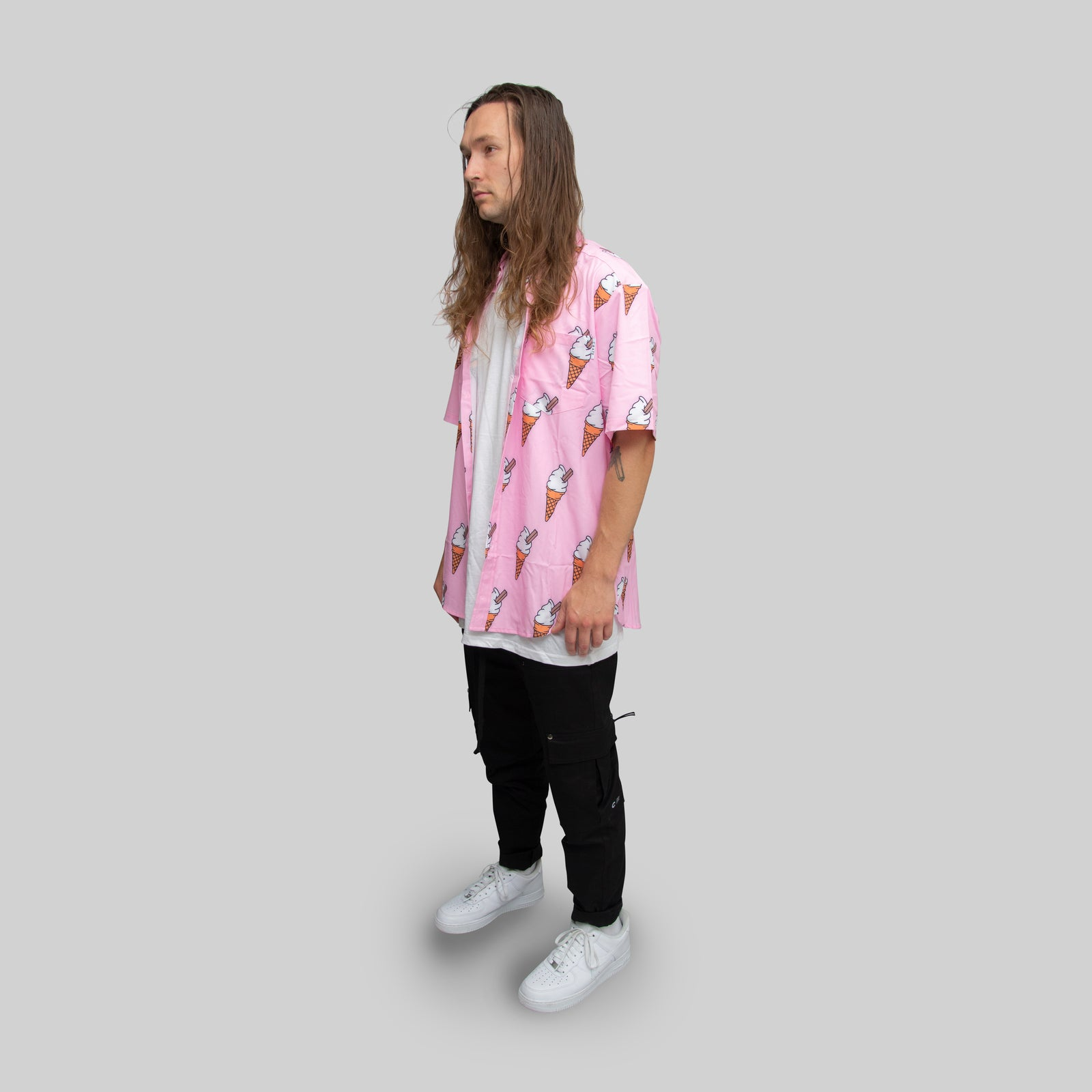 MENS ALL OVER ICE CREAM SS SHIRT