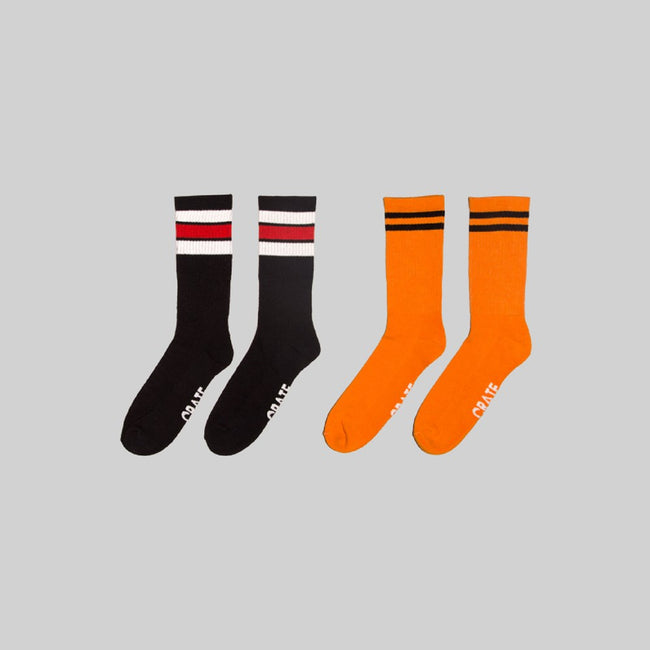 Stripe Sock 2 Pack