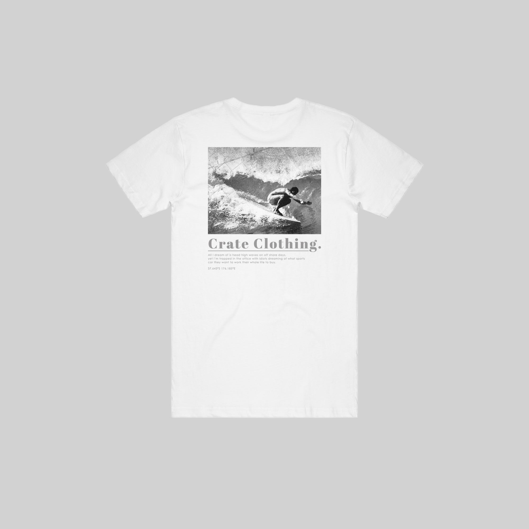MENS VINTAGE SURFER T-SHIRT