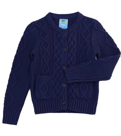 GIRL SWEATER (NAVY)