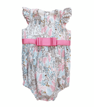 PLAYSUIT PINK & BLUE