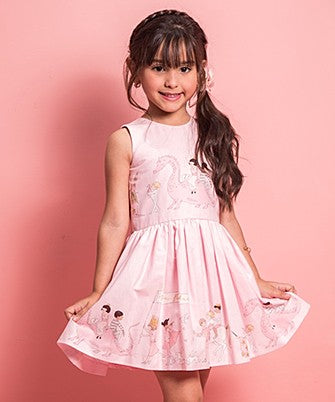 AMANDA DRESS MAGICAL PARADE PINK