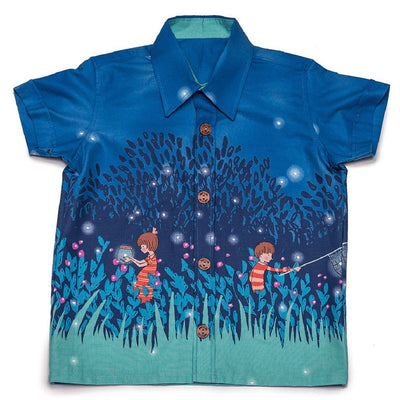 SUMMER NIGHT LIGHT SHIRT
